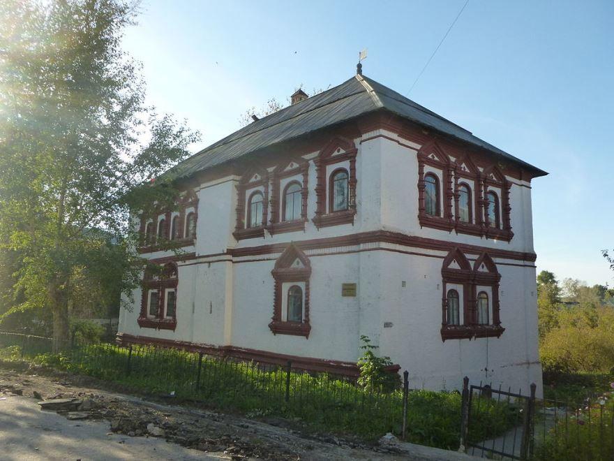 Дом воеводы с тайными ходами в стенах город Соликамск