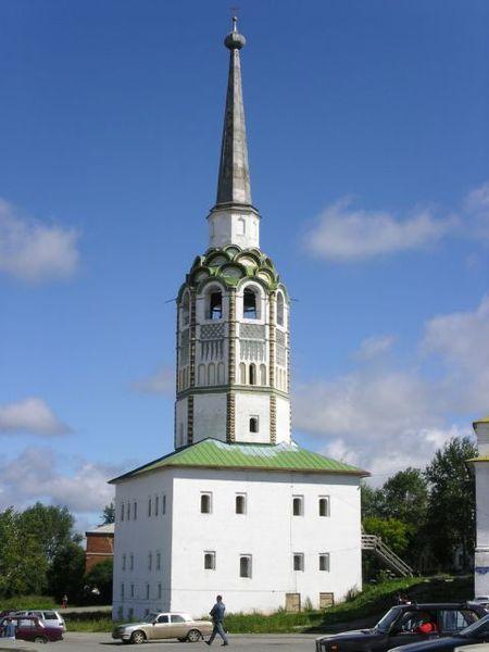 Смотреть красивое фото Колокольня в городе Соликамск
