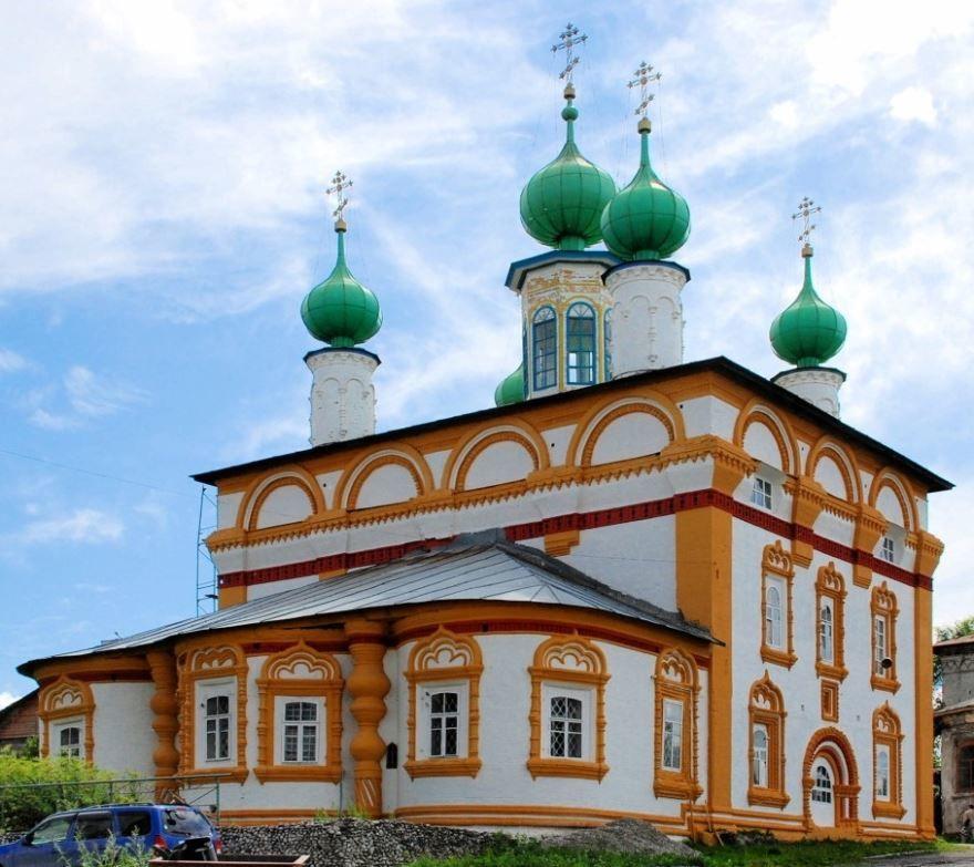 Спасская церковь город Соликамск