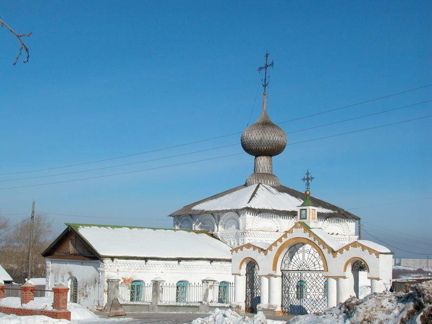 Введенская церковь город Соликамск