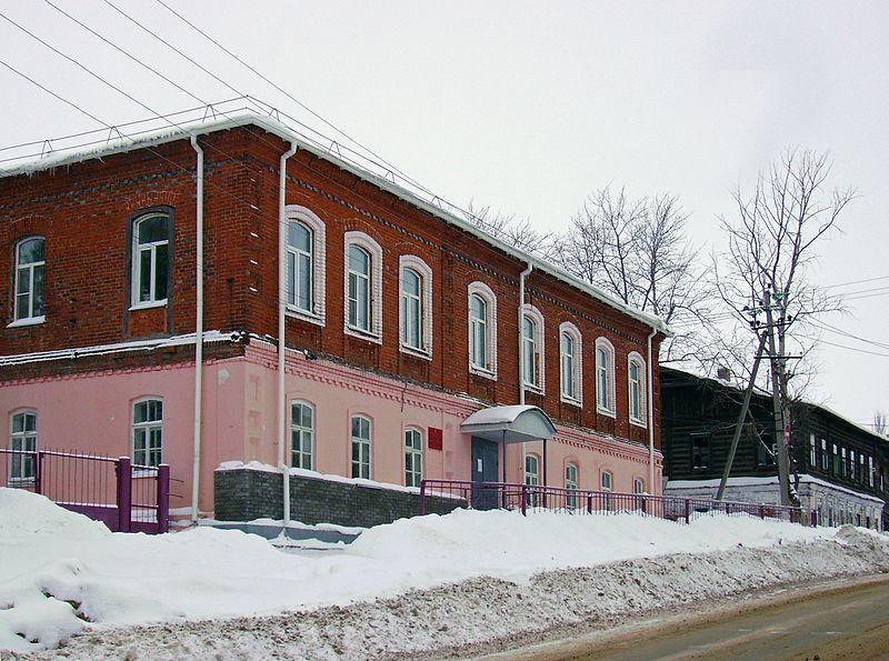 Здание агротехникума город Сергач