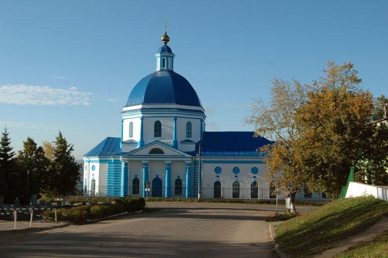 Церковь Владимирской Иконы Божией Матери город Сергач