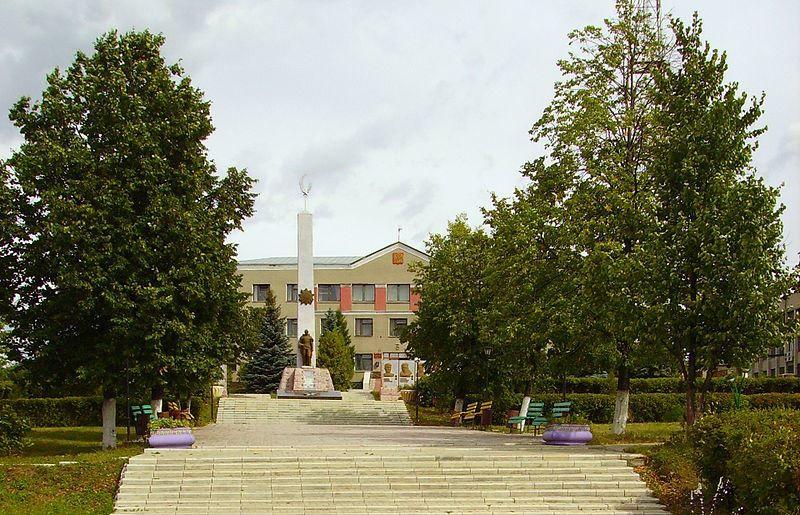 Мемориал памяти павших в годы Великой Отечественной войны город Сергач