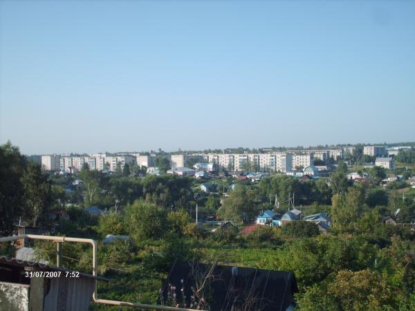 Скачать онлайн бесплатно лучшее фото красивый вид города Сергач в хорошем качестве