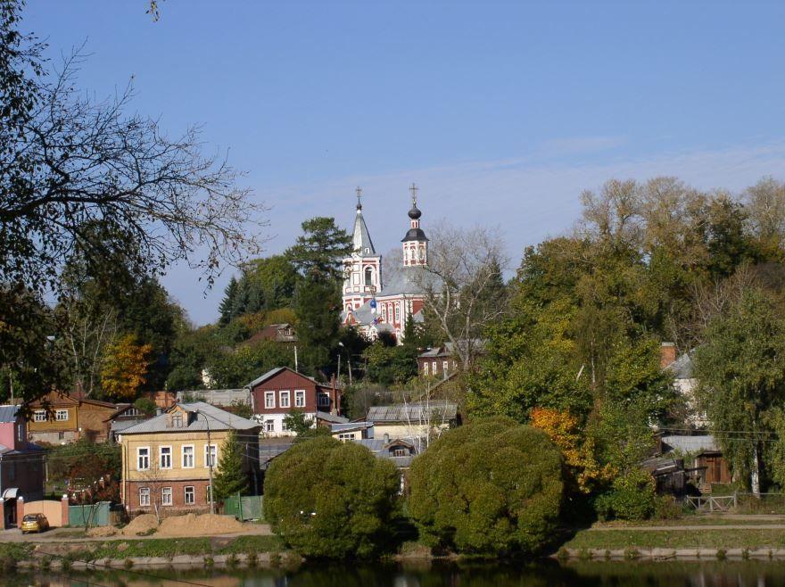 Смотреть красивое фото город Сергиев Посад в хорошем качестве