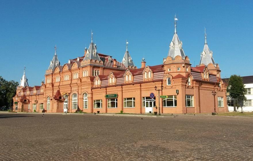 Смотреть лучшее фото красивая архитектура города Сергиев Посад в хорошем качестве