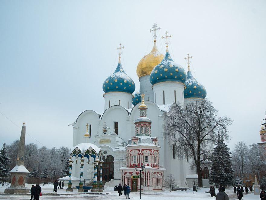 Монастырь город Сергиев Посад
