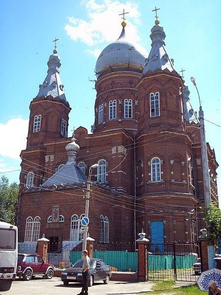 Смотреть красивое фото Собор Михаила Архангела город Сердобск