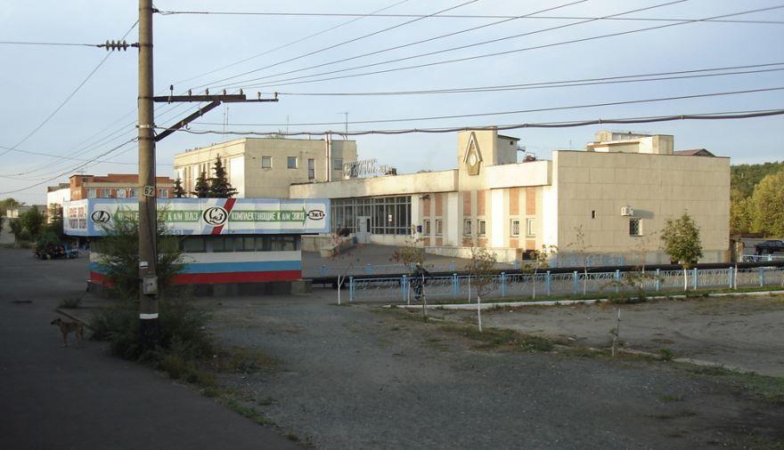 Железнодорожный вокзал город Сердобск 2018