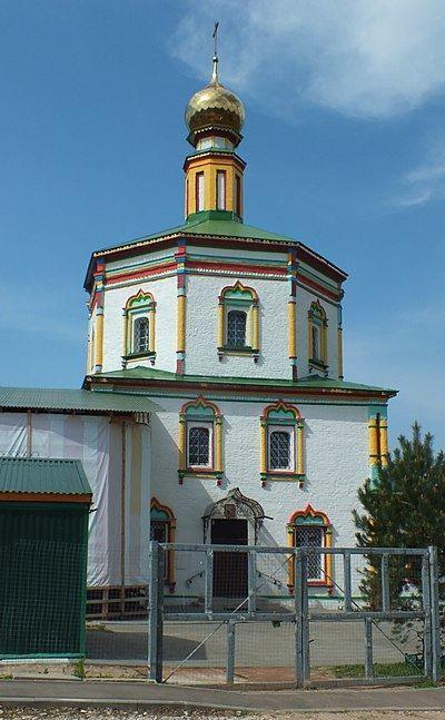 Сретенская церковь город Серпухов