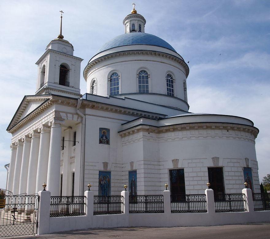 Церковь Николы Белого город Серпухов
