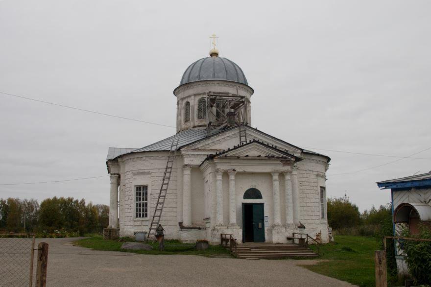 Церковь Преображения Господня город Солигач