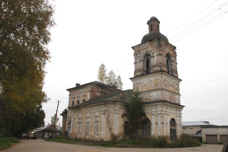 Церковь Входа Господня в Иерусалим город Солигач