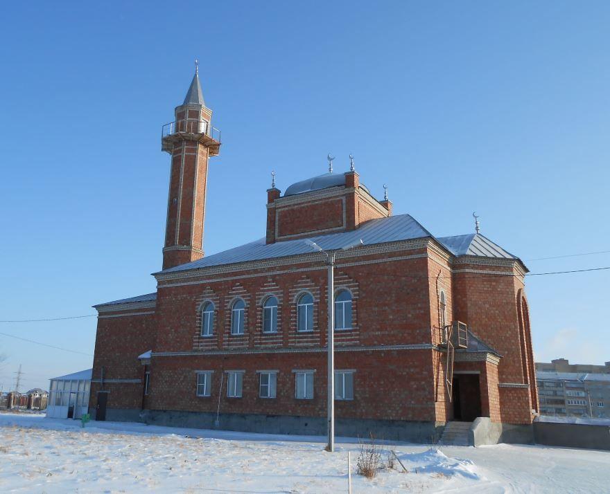 Соборная мечеть Таква город Сибай
