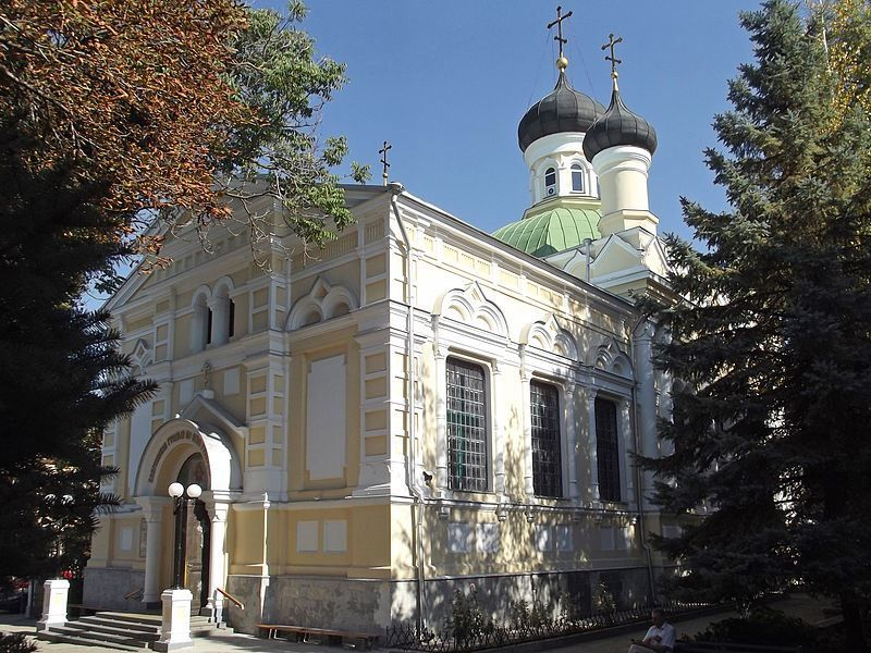 Церковь Трех Святителей город Симферополь
