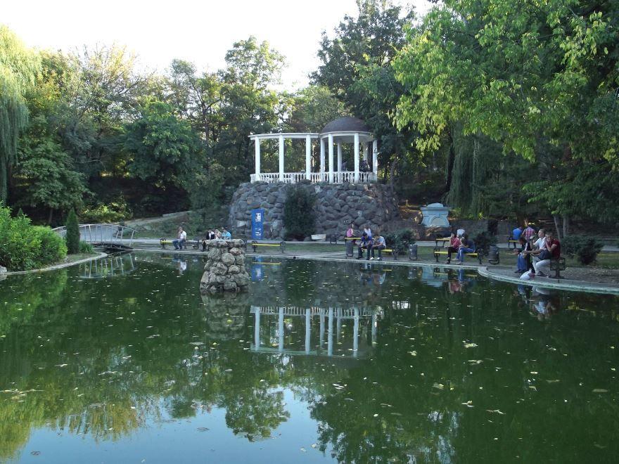 Смотреть красивое фото в центральном парке город Симферополь