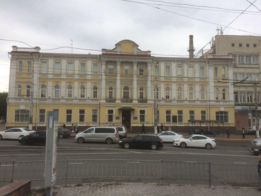 Здание Черноморнефтегаз город Симферополь