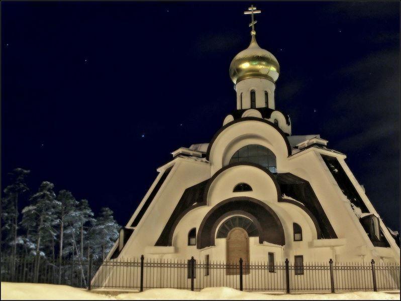 Храм Неопалимая Купина город Сосновый бор