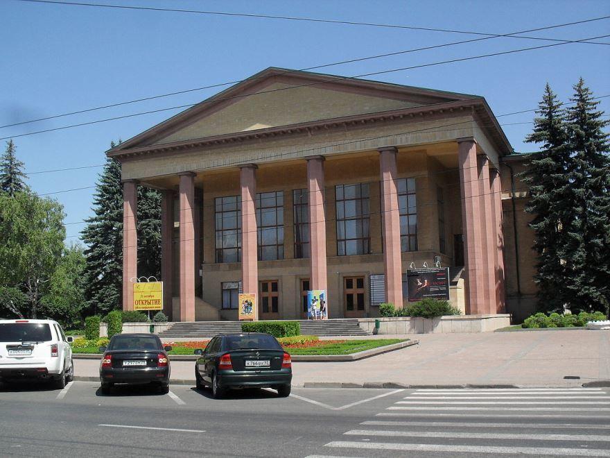 Смотреть красивое фото театр в городе Ставрополь