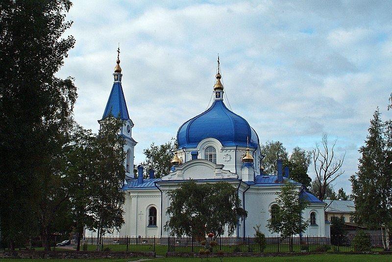 Церковь Николая Чудотворца город Сортавала