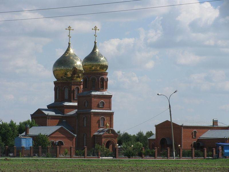 Храм Святого Пантелеймона город Славянск на Кубани