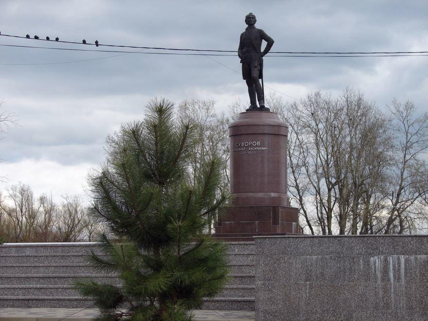 Памятник А.В. Суворову город Славянск на Кубани