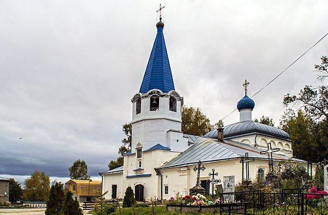 Церковь Покрова Пресвятой Богородицы город Советск