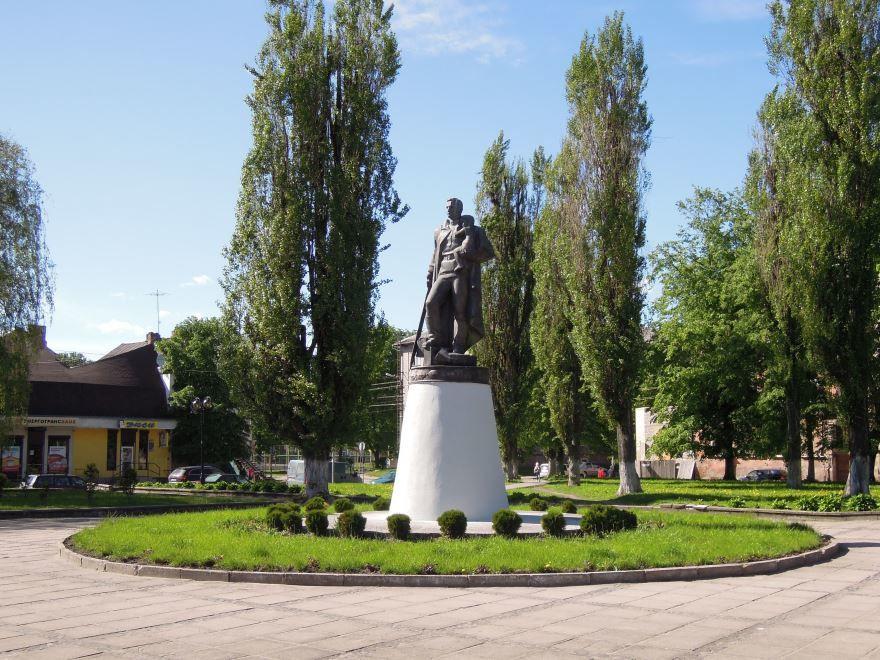 Памятник Воину-освободителю в городе Советске