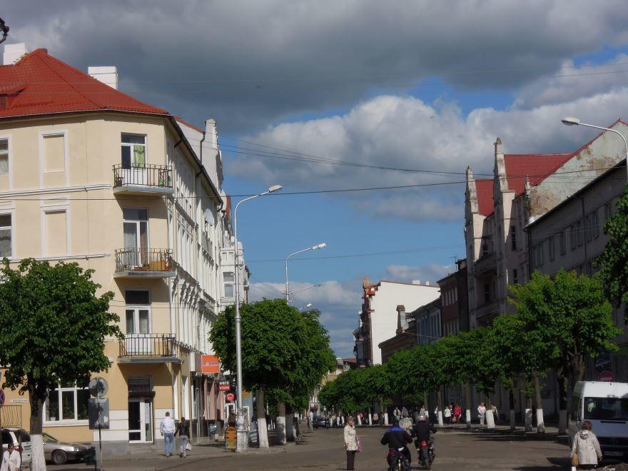 Скачать онлайн бесплатно лучшее фото улица Победы города Советск в хорошем качестве