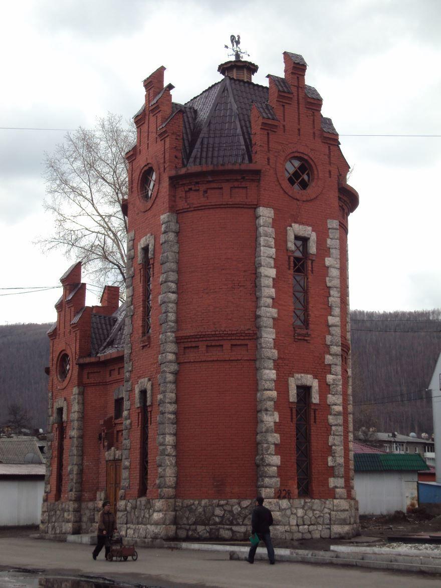 Водонапорная башня город Слюдянка