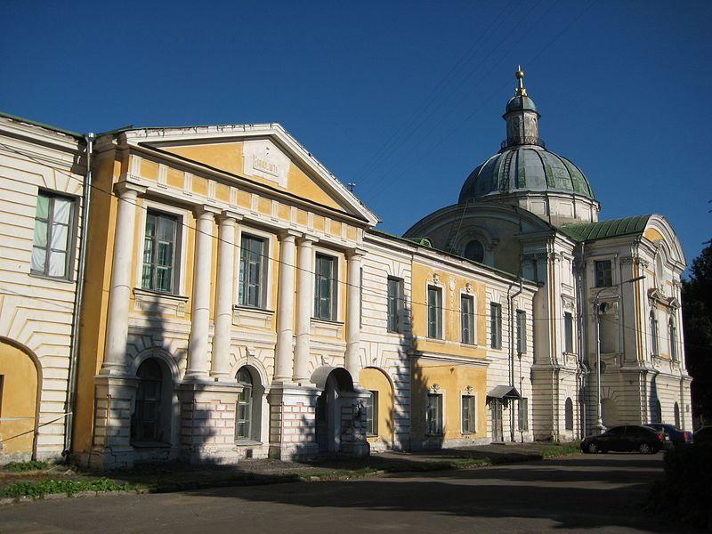 Путевой дворец Главный корпус 1764-66 годов город Тверь