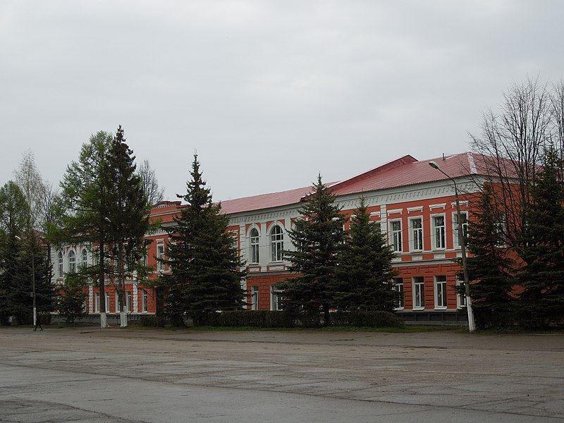 Здание женской гимназии город Старая Русса