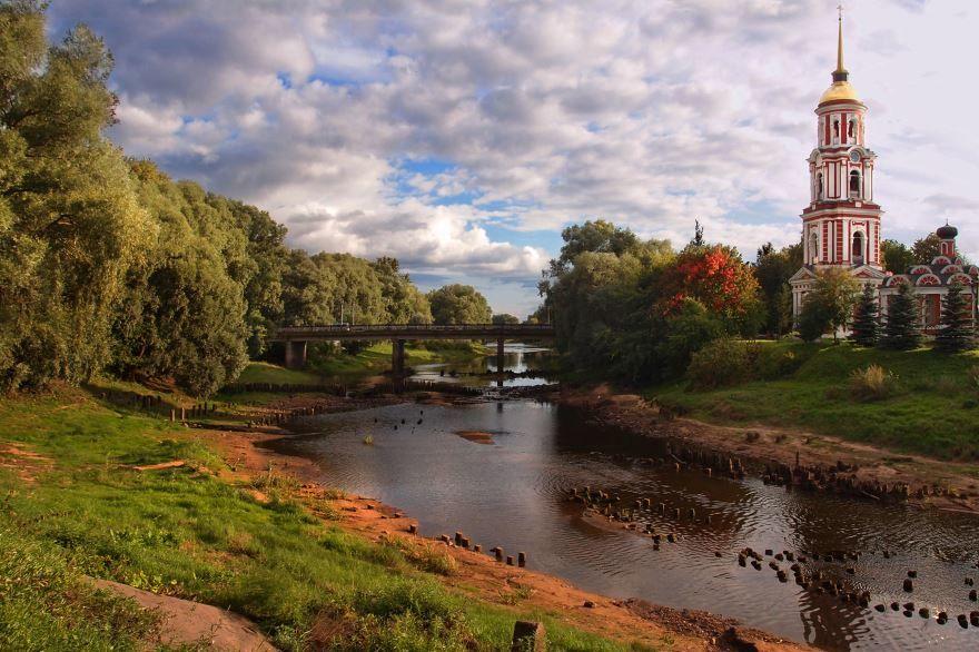 Воскресенский собор и колокольня город Старая Русса