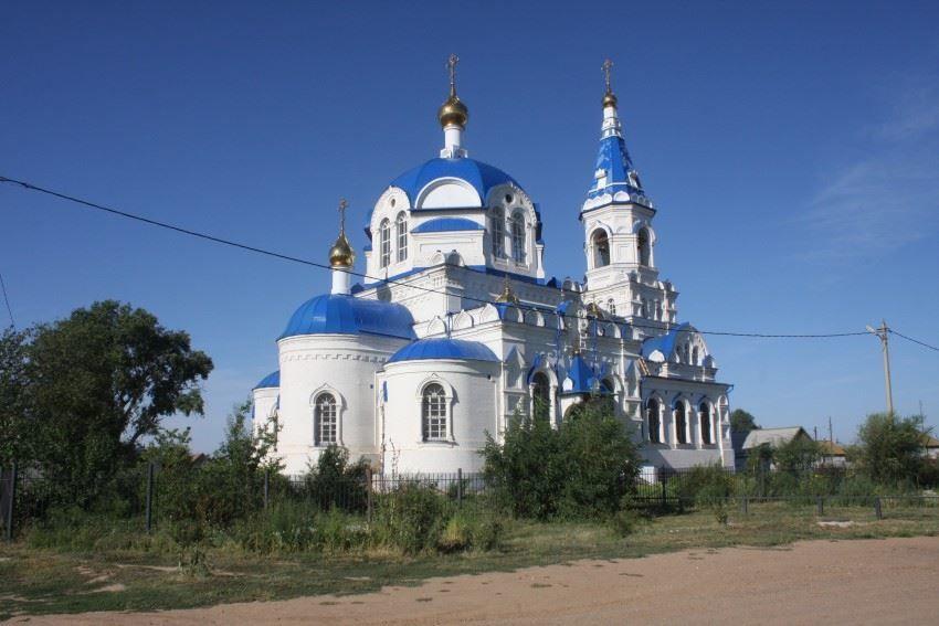 Церковь Казанской иконы Божией Матери город Старица
