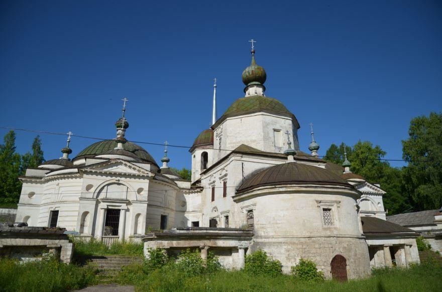 Церковь Параскевы Пятницы город Старица