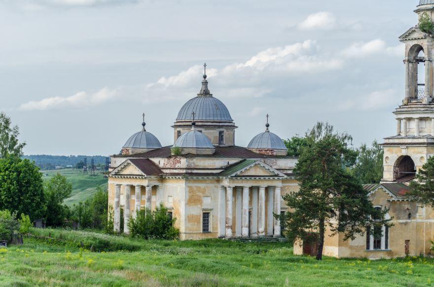 Собор Бориса и Глеба 1820 года город Старица