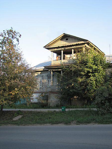 Дом Добротворского город Таруса