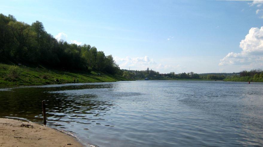 Смотреть красивое фото река Ока в хорошем качестве