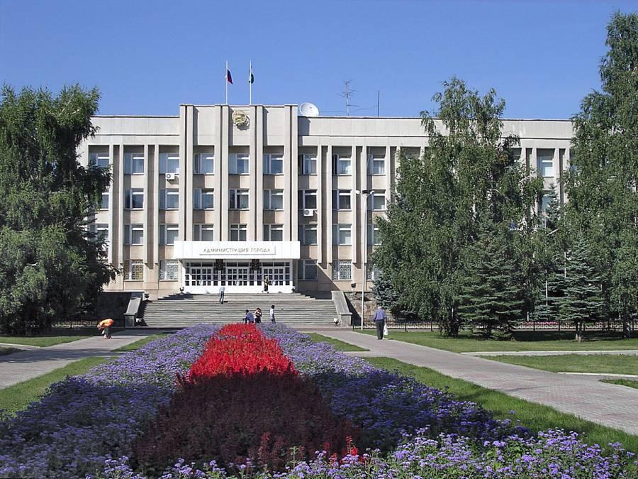 Здание администрации города Стерлитамак