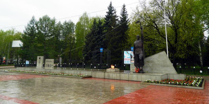 Памятник неизвестному солдату город Стерлитамак