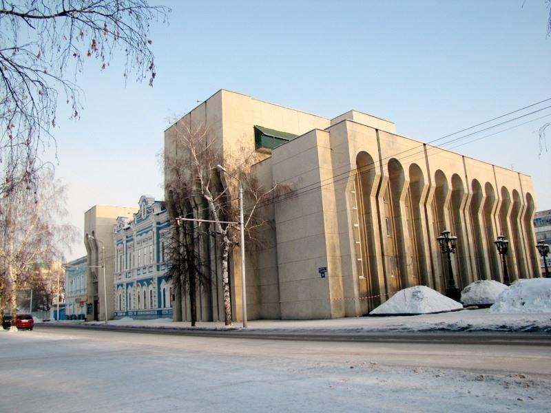 Русский драматический театр город Стерлитамак