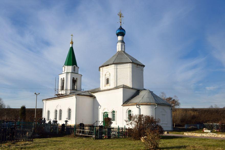 Церковь Преображения Господня город Ступино
