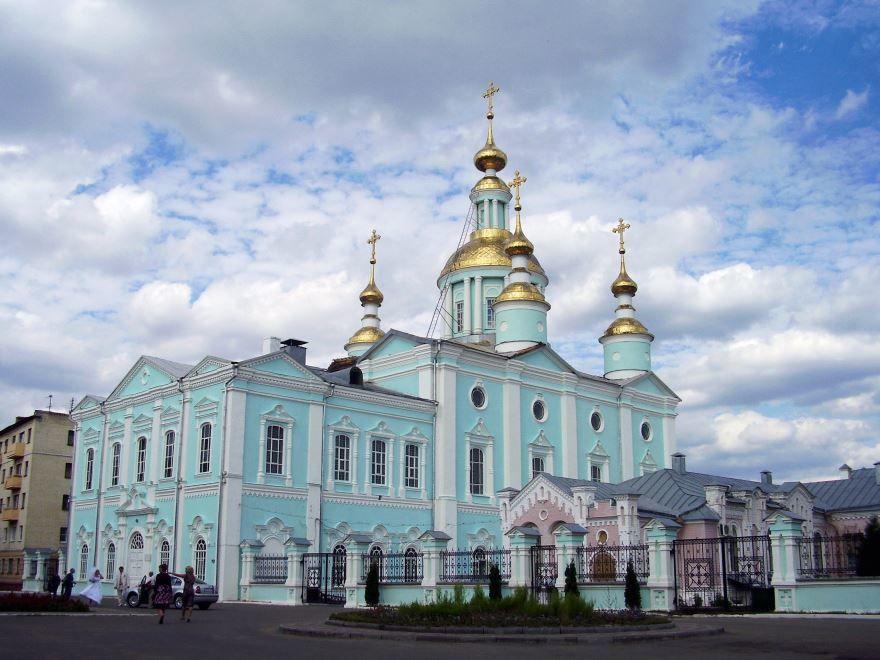Спасо-Преображенский кафедральный собор город Тамбов