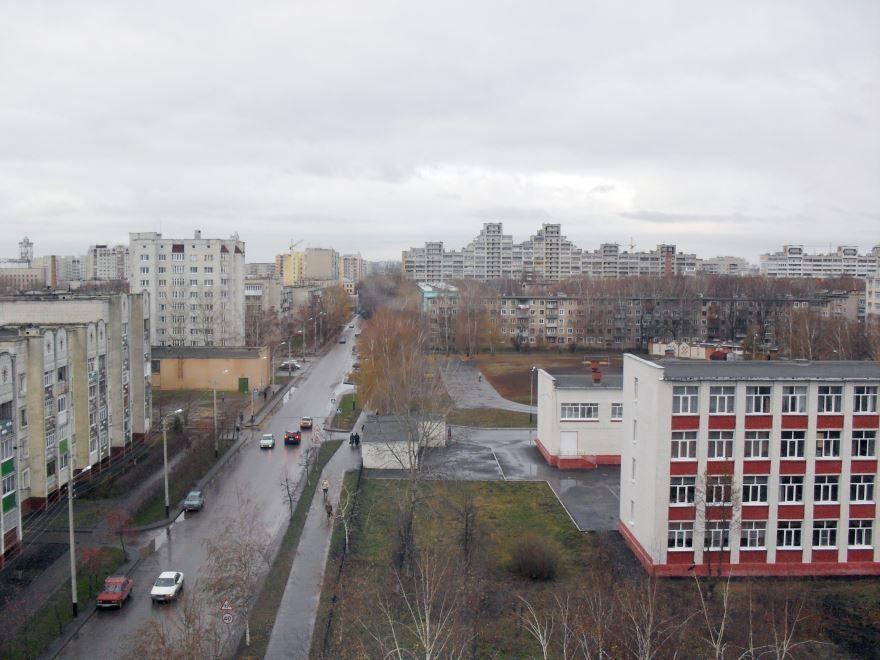 Скачать онлайн бесплатно лучшее фото вид сверху на город Тамбов в хорошем качестве