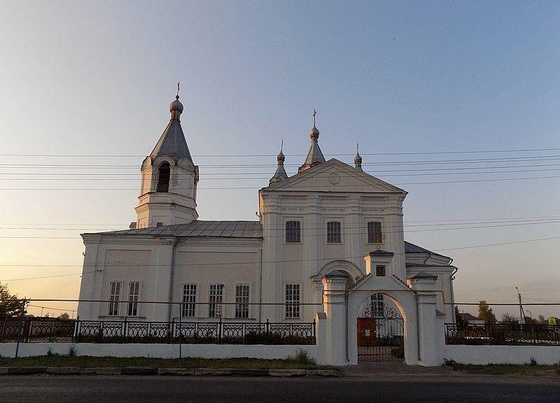 Ансамбль Ильинская церковь город Суджа