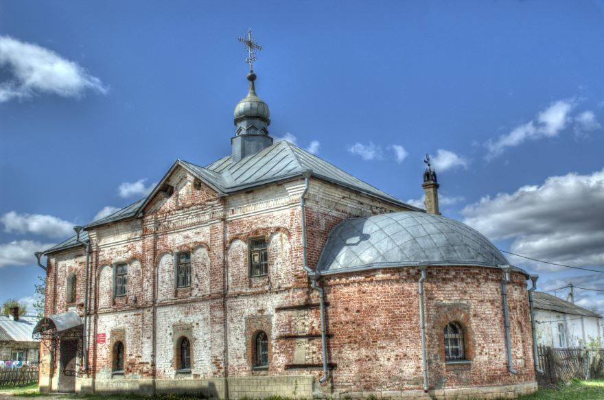 Церковь Александра Невского город Судогда