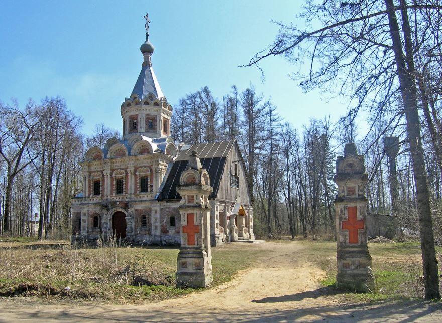 Усадьба Муромцево церковь  мученицы царицы Александры