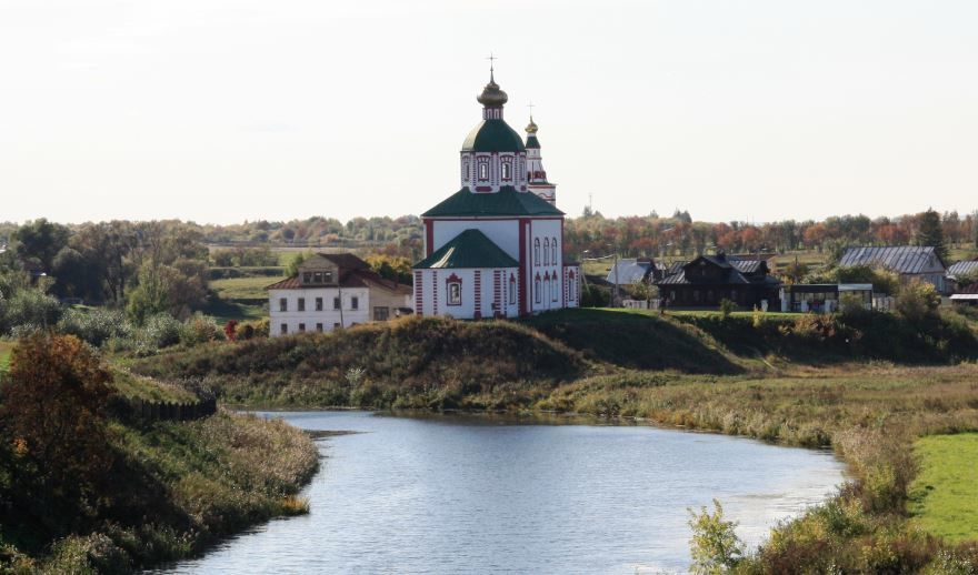 Церковь Ильинская город Суздаль