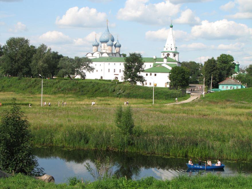 Смотреть красивое фото город Суздаль в хорошем качестве