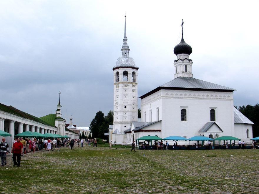 Воскресенская церковь город Суздаль